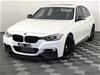 2013 BMW 3 35i F30 M Sport Automatic 8 Speed Sedan