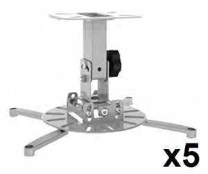 5 x VisionMounts Ceiling Projector Mount