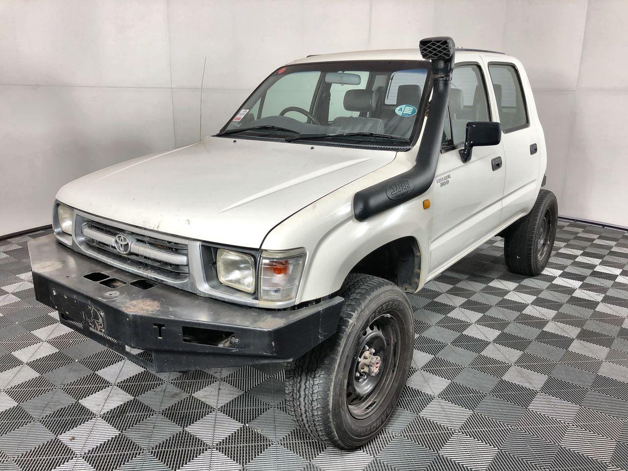 2000 Toyota Hilux (4x4) Turbo Diesel Dual Cab