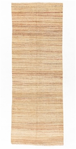 Modern Style Flat Weave Stripy hand knot