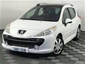 Unreserved 2008 Peugeot 207 XT Touring HDi Turbo Diesel