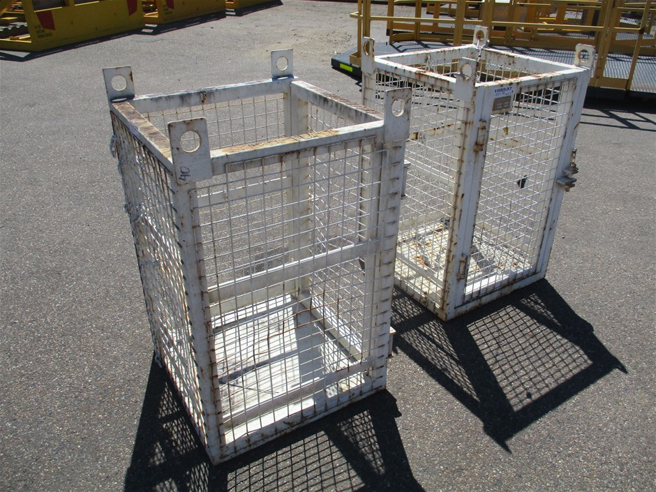 Qty 2 x 2012 Stenhouse Lifting Cages