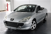 Unreserved 2007 Peugeot 307 CC Dynamic Manual Convertible