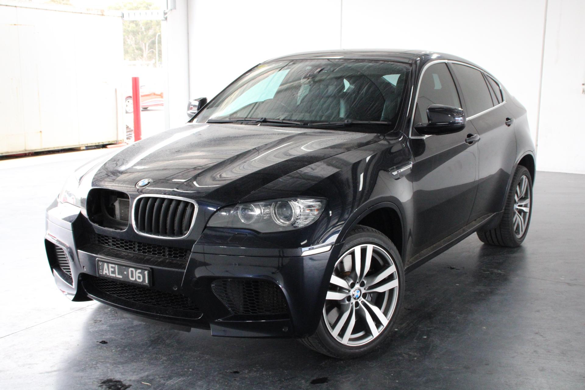 2010 BMW X6 M E71 6sp auto 4.4L V8 T/Petrol Coupe, 138,252km Indicated