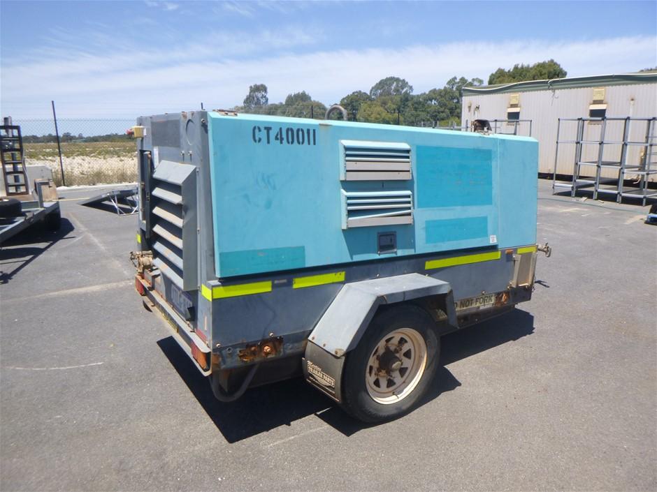 2010 Airman PDS390S-4B1 400CFM Diesel Compressor (Location: Jandakot)