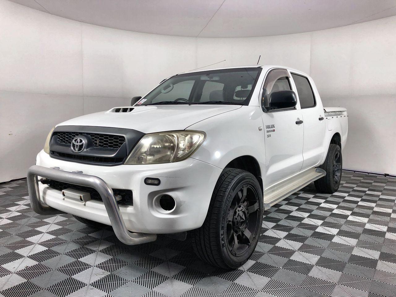 2008 Toyota Hilux SR (4x4) KUN26R Turbo Diesel Manual Crew Cab Chassis