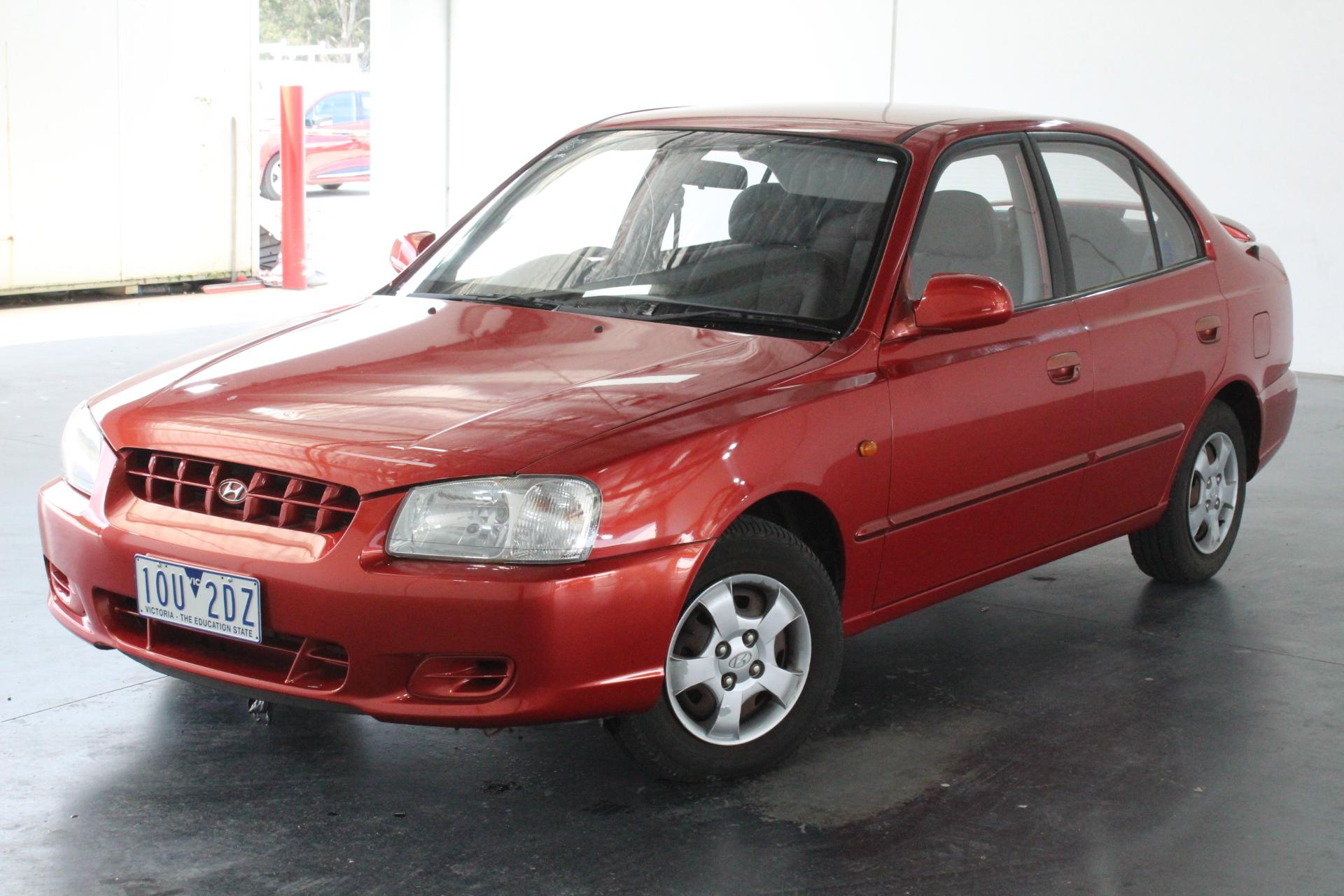 2001 Hyundai Accent GLS LS Automatic Sedan