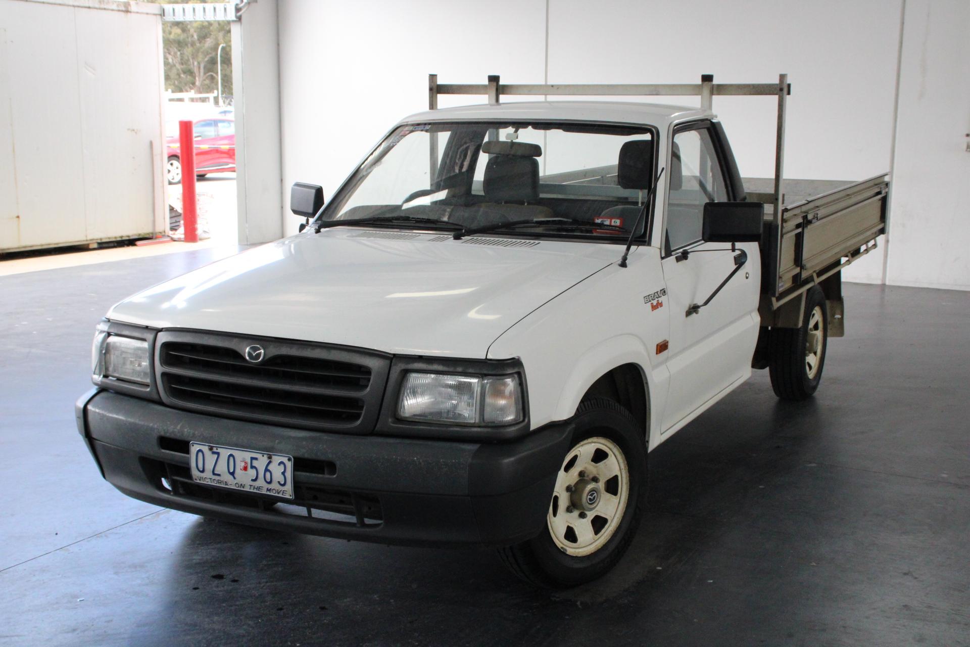 1998 Mazda B2600 Bravo B2600 Dual Fuel Manual Cab Chassis