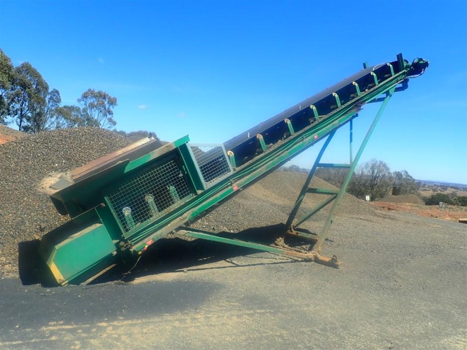 Conveyor 9000x750mm belt