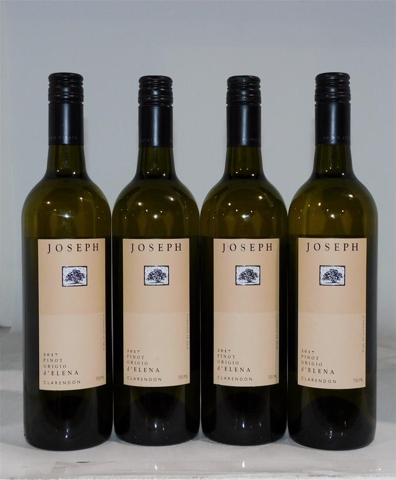 Joseph 'd'Elena' Pinot Grigio 2017 (4 x 750mL)