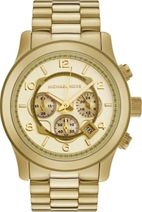 Stylish new Michael Kors Runway Gold-ton