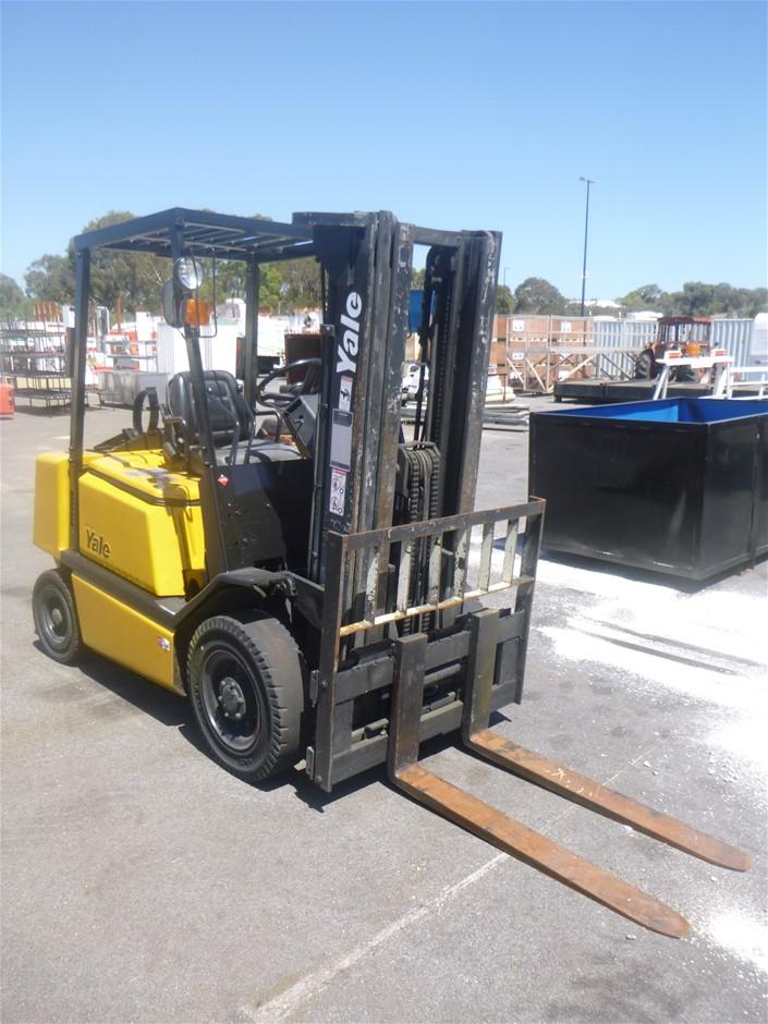 Yale 4 Wheel Counterbalance Forklift
