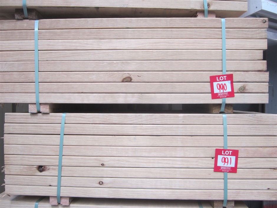 Pack of 240mm x 45mm MGP 10 T3 Treated Pine.