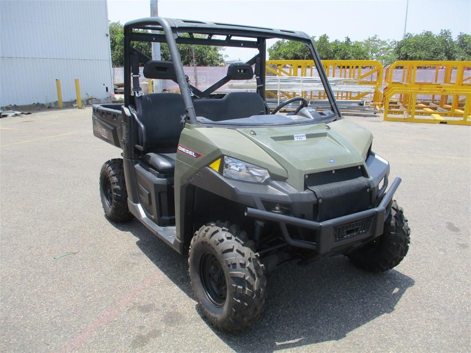 Ranger Polaris Diesel ATV Utility