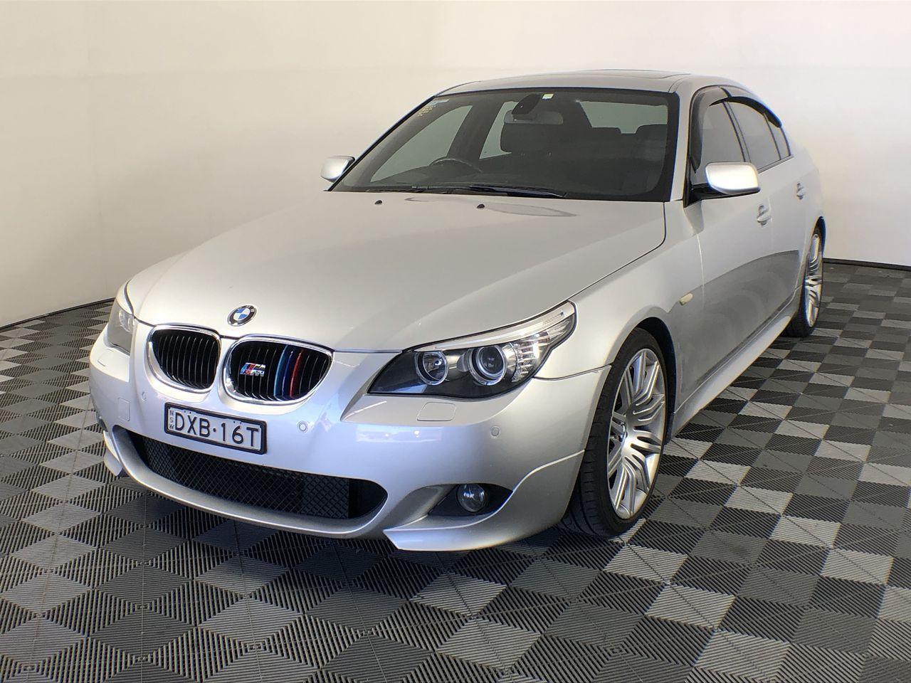 2009 BMW 5 20d E60 M-SPORT Turbo Diesel Auto Sedan