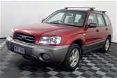 Unreserved 2002 Subaru Forester XS Manual Wagon