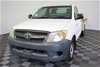 2006 Toyota Hilux SR GGN15R Automatic Cab Chassis