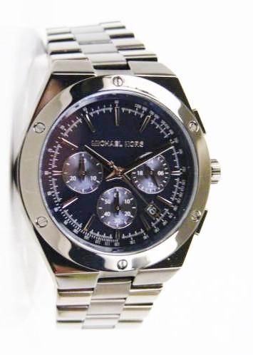 Mens unworn Michael Kors Couture 'Reagan' luxury chrono. watch.