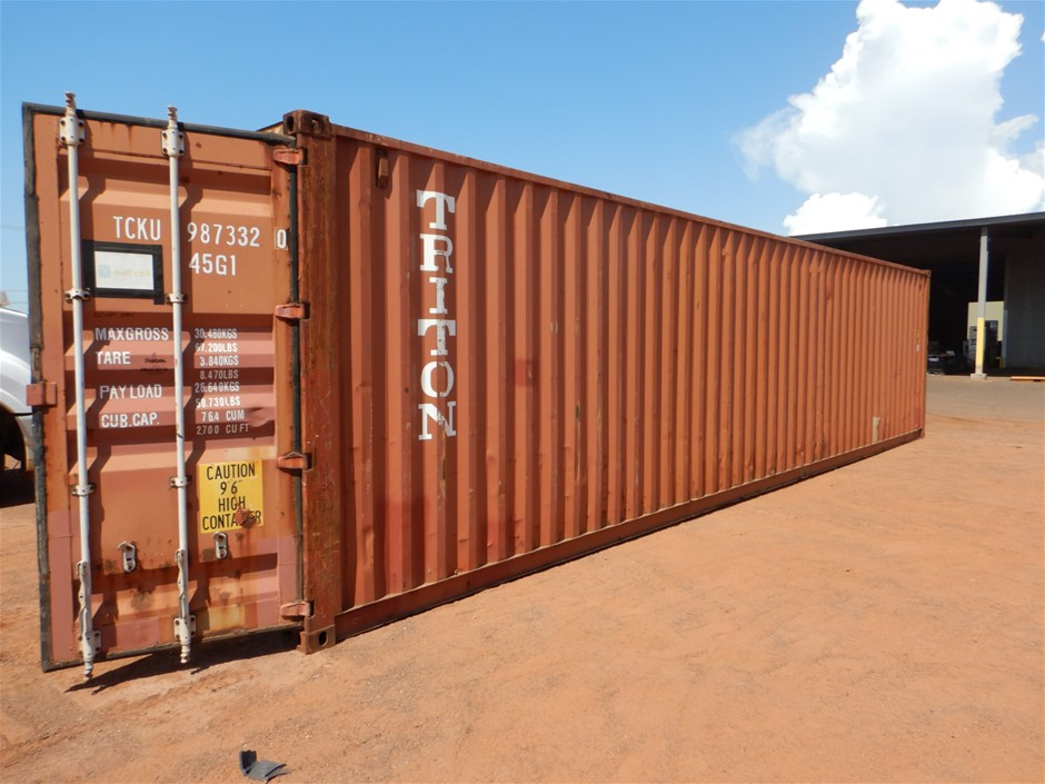Container, 40 Foot, High Cube (B-Type)