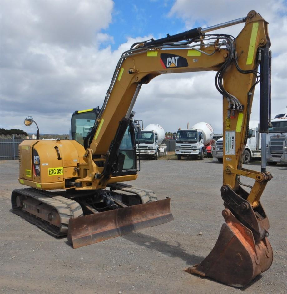 2013 Caterpillar 308ECR Mini Excavator (Pooraka, SA)