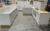 Assembled Kitchen Cabinets, Vanities, Laundry Trough
