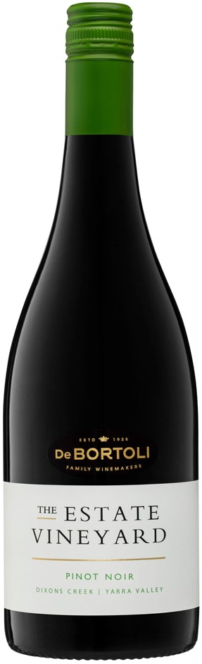 De Bortoli The Estate Vineyard Pinot Noir 2018 (6x 750ml). VIC. Screwcap