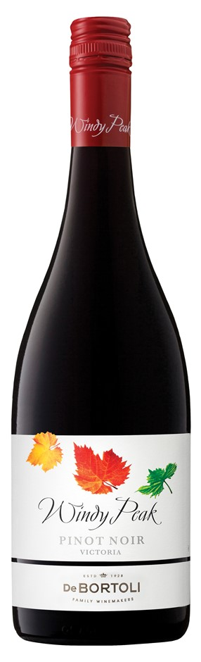 De Bortoli Windy Peak Pinot Noir 2019 (6x 750ml). VIC.