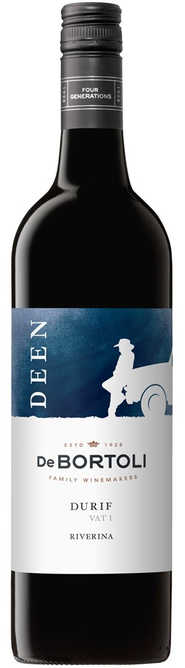 Deen Vat 1 Durif 2017 (6x 750mL). NSW