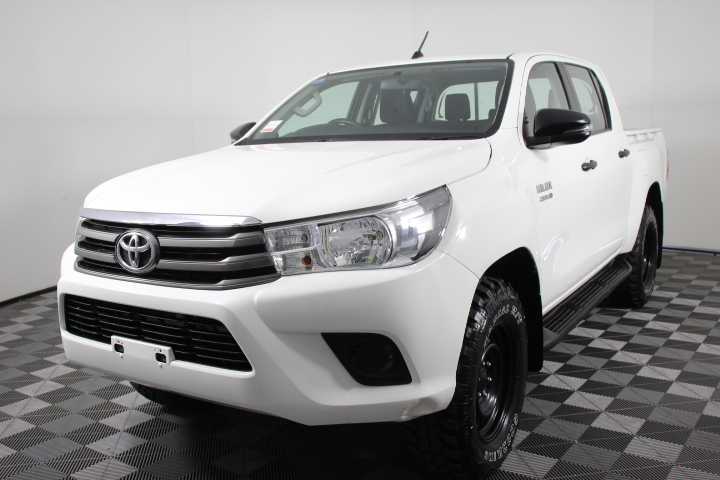 2017 MY18 Toyota Hilux 2.8 Turbo Diesel Automatic 4WD 60,715 km's