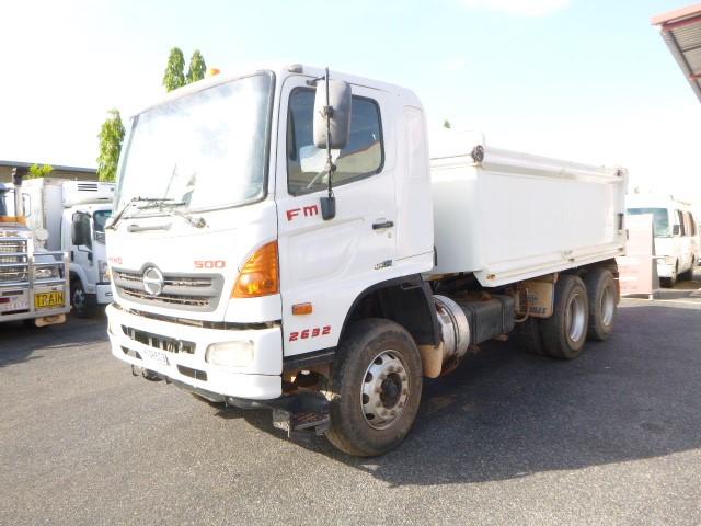 2008 Hino 500 FM 2632 6 x 2 Tipper Truck