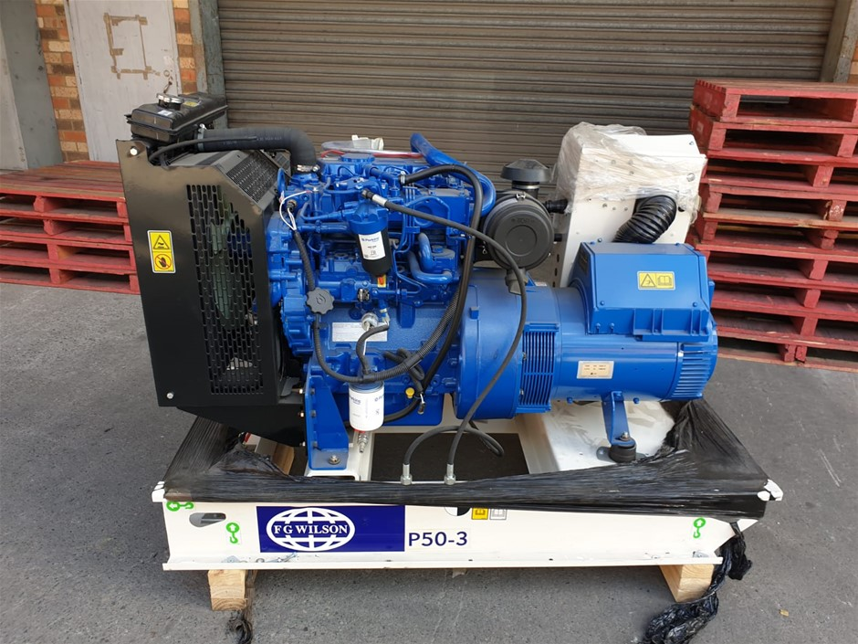 Damaged New Generator
