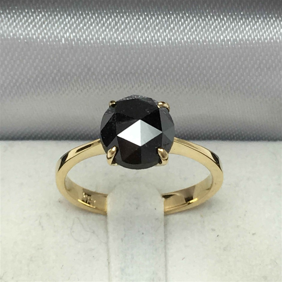 18ct Yellow Gold, 2.40ct Diamond Ring