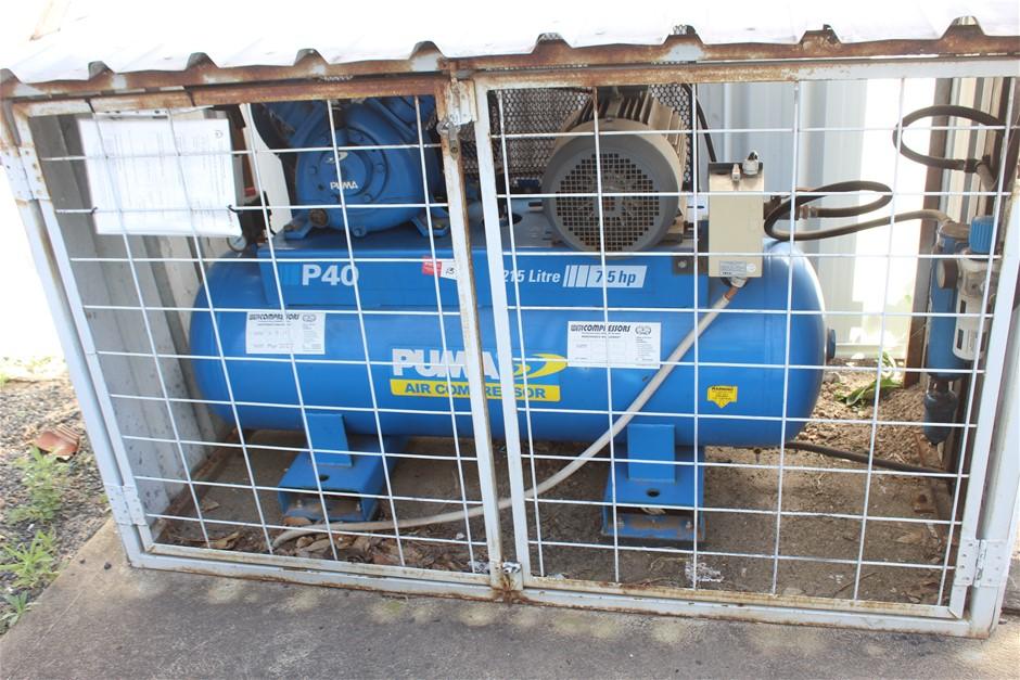 Puma Duo Air Compressor