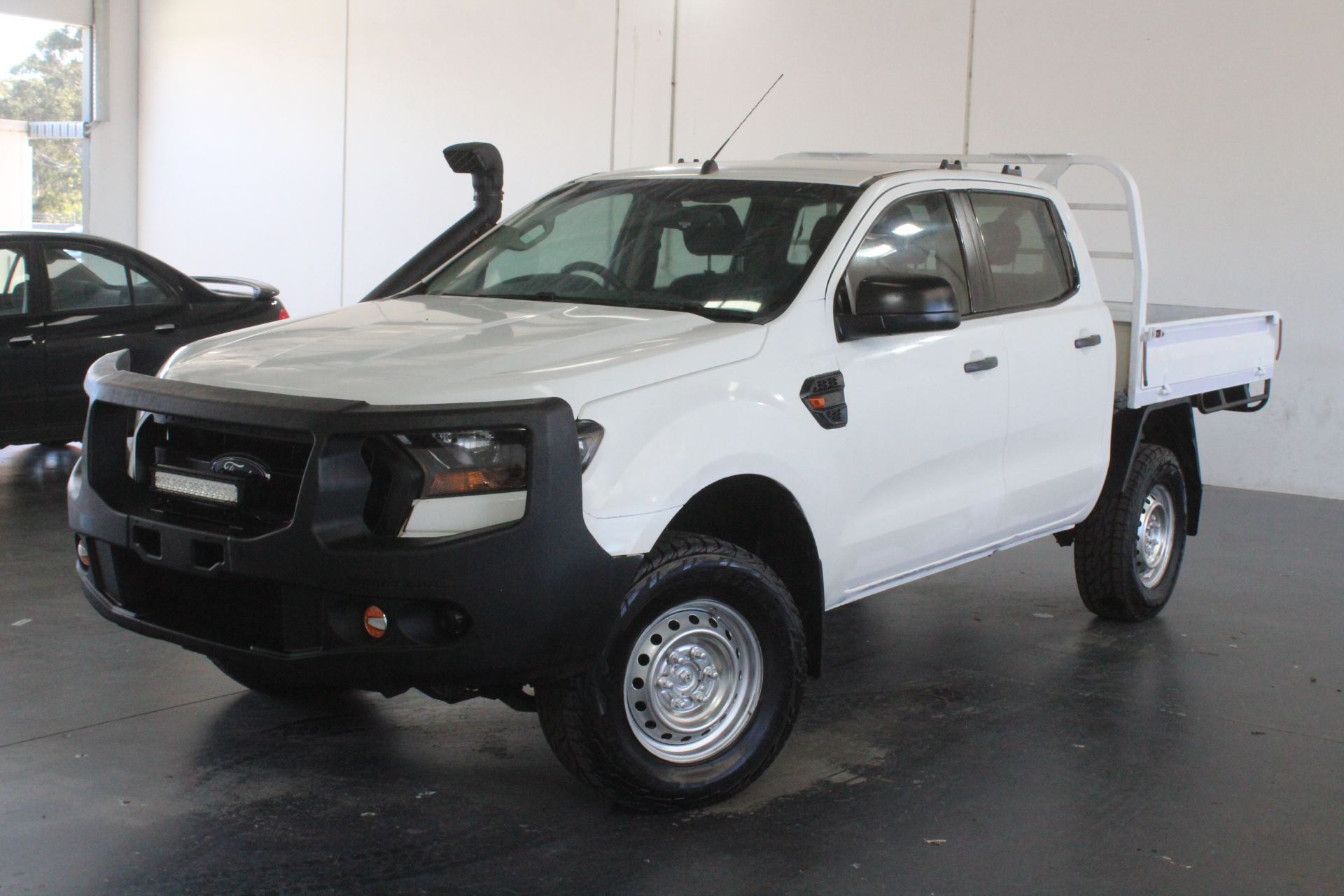 2015 Ford Ranger XL 4X4 PX II Turbo Diesel Automatic Crew Cab Chassis
