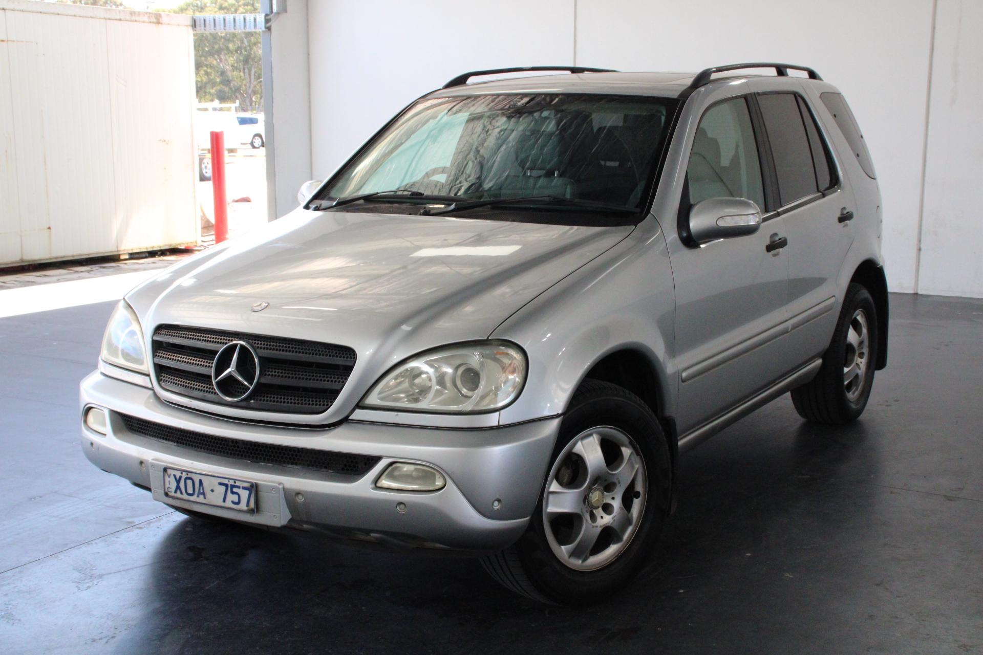 2004 Mercedes Benz ML 270 CDI (4x4) W163 Turbo Diesel Automatic Wagon