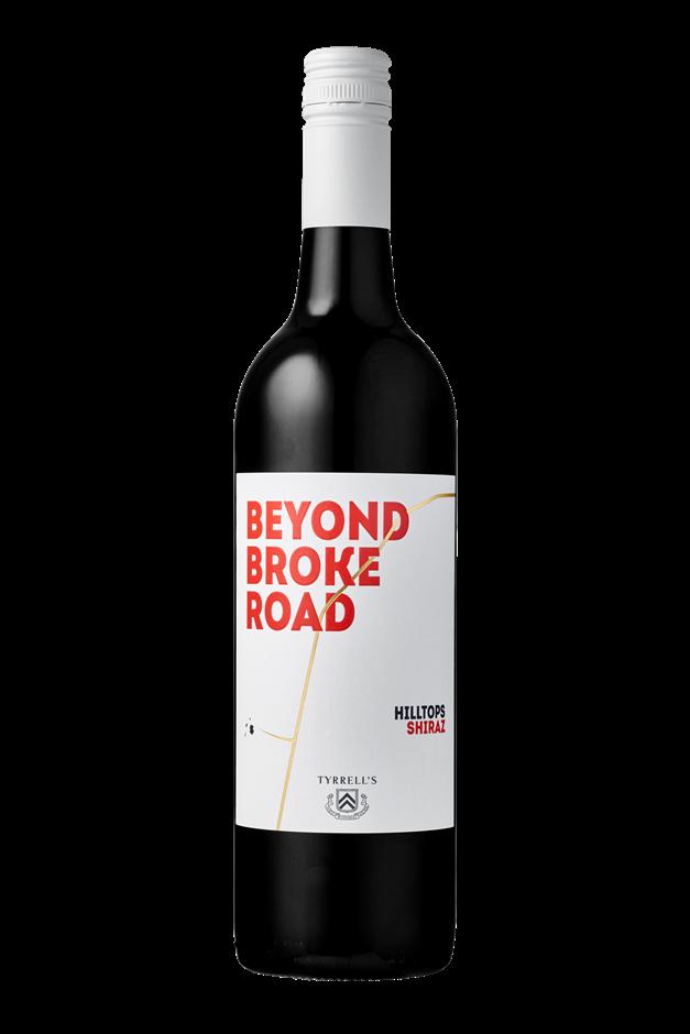 Tyrrell's `Beyond Broke Road` Shiraz 2018 (6 x 750mL) Hilltops, NSW