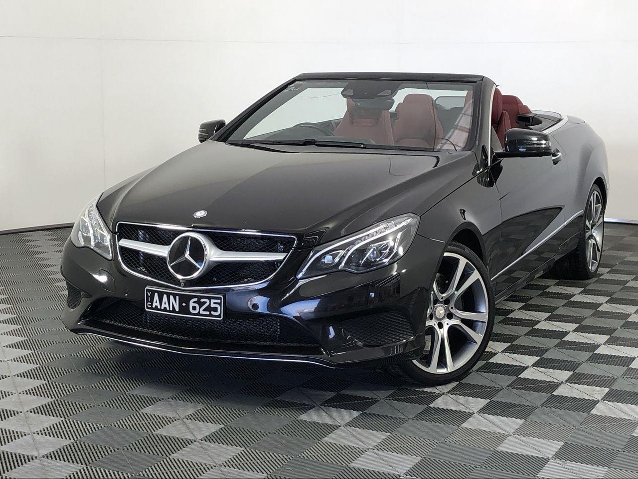 2013 Mercedes Benz E-CLASS E400 A207 Automatic Convertible