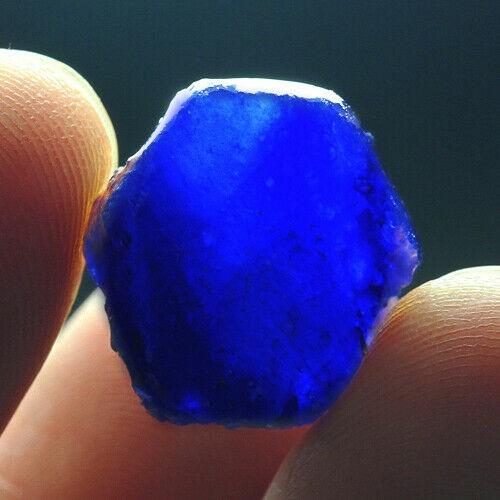 17.5Ct Blue Sapphire Facet Rough Specimen