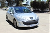 2010 Peugeot 308 XSE  FWD Automatic Hatchback (RWC ISSUED 11-11-19)