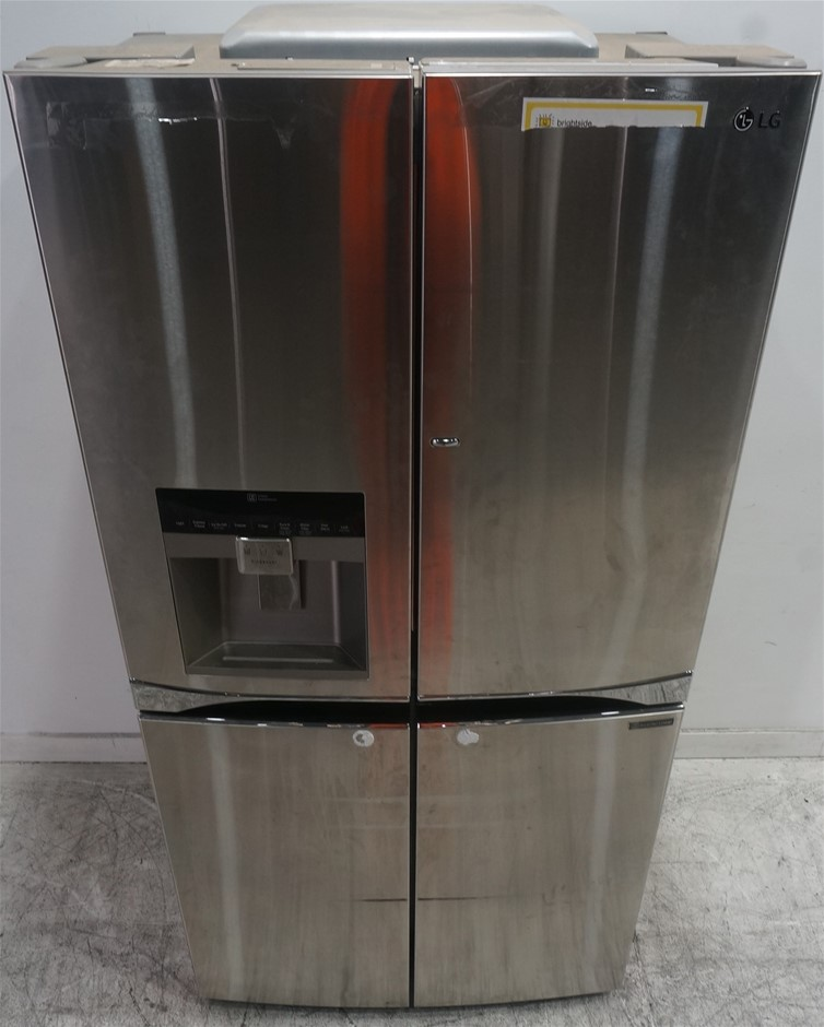 LG 712L 5 Door French Door Fridge with Door-In-Door (GF-5D712SL)