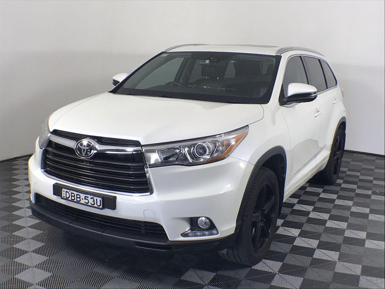 2015 Toyota Kluger Grande (4x4) GSU55R Automatic 7 Seats Wagon 99,042km