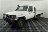 2006 Toyota Landcruiser (4x4) Manual Cab Chassis