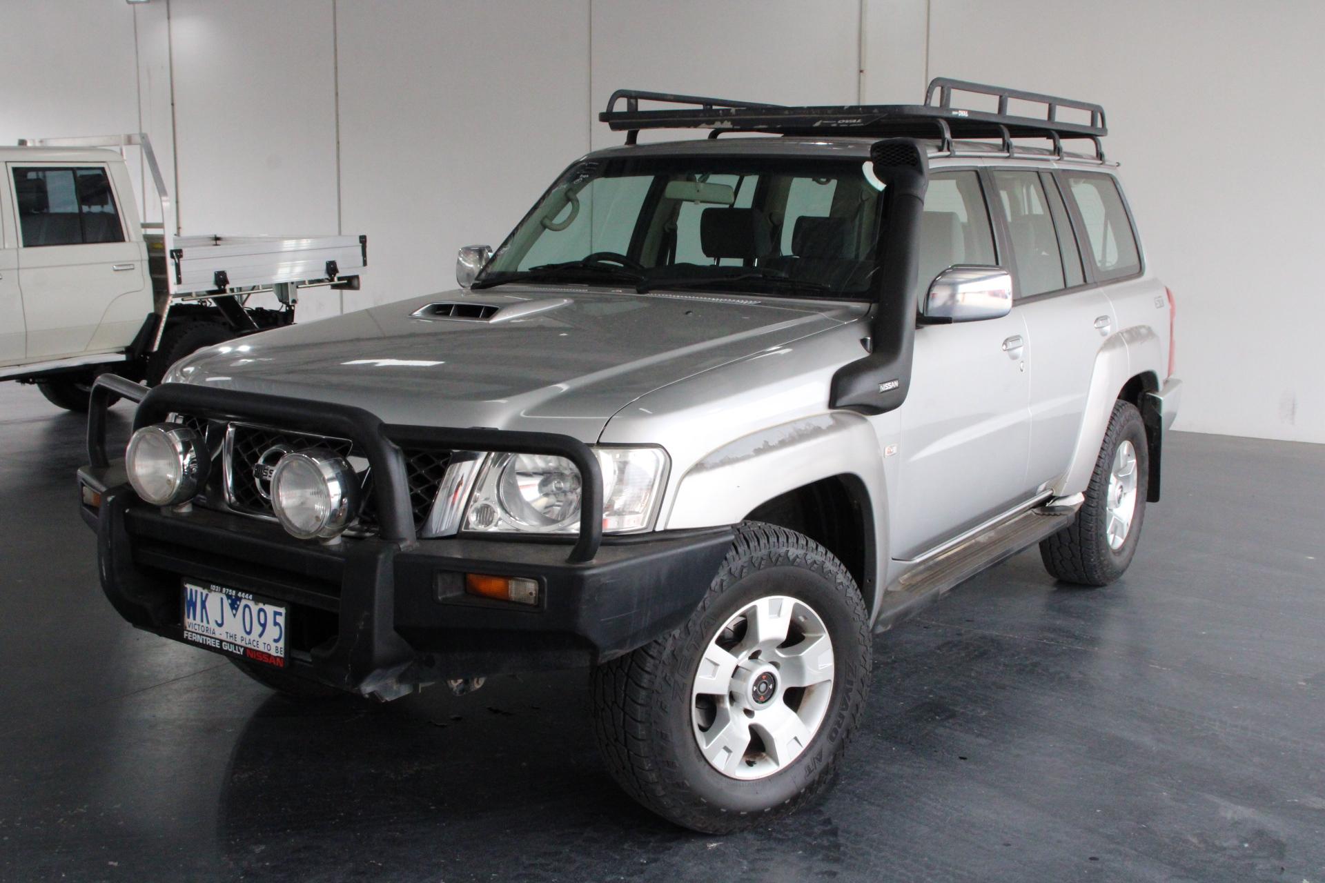 2008 Nissan Patrol ST (4x4) GU II Turbo Diesel Manual 7 Seats Wagon