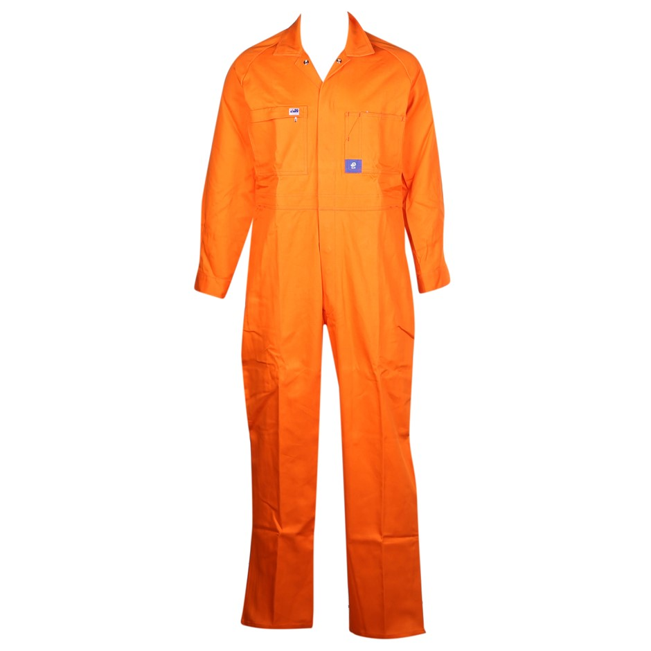 2 x Pairs WORKSENSE Cotton Drill Combination Overalls, Size 112S, Heavy Wei