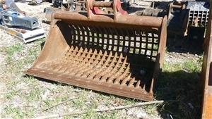 Excavator Shaker Bucket