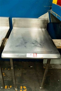 Stainless Steel Wall Bench Unit