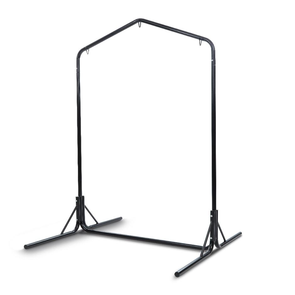 Gardeon Double Hammock Chair Stand Steel Frame 2 Person Heavy Duty 200KG