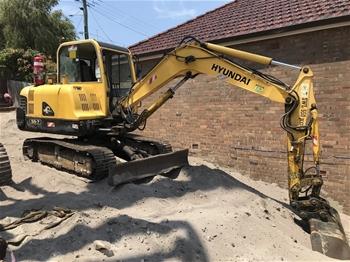 Hyundai Robex 55-7 Excavator