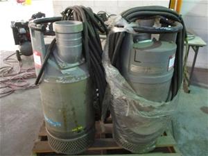 2x Flygt Submersive Pumps