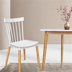 Artiss Dining Chairs Replica Chair White